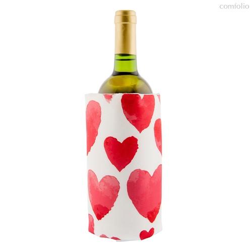 Охладительная рубашка для вина Love, цвет красный - Koala