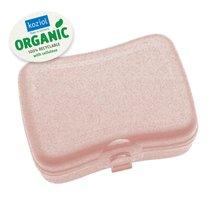Ланч-бокс BASIC Organic розовый - Koziol