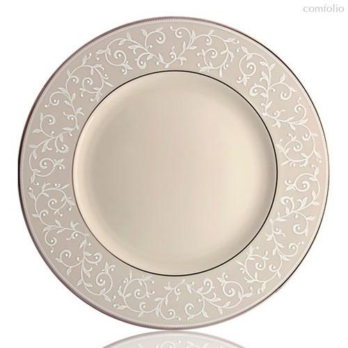 """Тарелка обеденная Lenox """"Чистый жемчуг"""" 27,5см, 27 см - Lenox"""