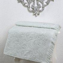 "Полотенце махровое ""KARNA"" ESRA (70x140) см 1/1, цвет серый, 70x140 - Bilge Tekstil"