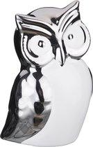 Статуэтка Сова Серебряная Коллекция 8x6 см Высота 10 см - Hebei Grinding Wheel Factory