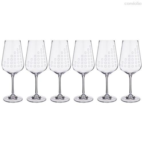 Набор бокалов для вина из 6 шт. SANDRA 450 мл ВЫСОТА 24 см - Crystalex