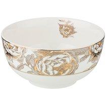 Салатник Golden Rose 14 см, Белый - Porcelain Manufacturing Factory