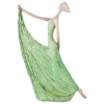 Статуэтка Пастель 21,5x6x30 Cm., цвет зеленый - Lefard