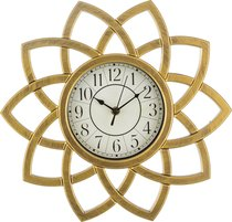 Часы Настенные Кварцевые Italian Style 34X36X5 смДиаметр Циферблата 15 см - Arts & Crafts