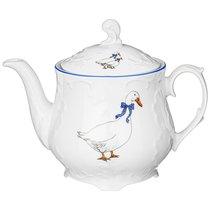 Чайник Рококо Гуси 1,1Л - Cmielow I Chodziez