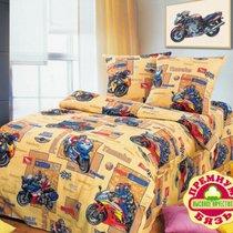 КПБ детский 1,5 спальный ДБ-27, цвет желтый, 1.5-спальный - Valtery