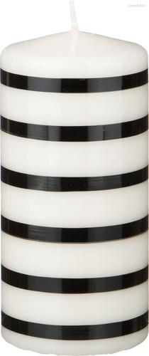 Свеча Black & White 15/7 см. - Adpal
