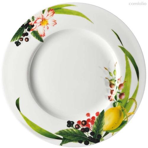 "Тарелка закусочная с бортом 23см ""Фруктовый сад"" - Rosenthal"