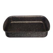 Форма Agness Премиум Черное Золото Прямоугольная 30Х22X6 см, Трехслойное Покр Granit, Pfoa Free - ISFA Metal Tekstil
