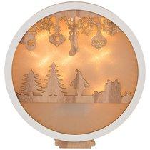 Декоративное Изделие Новогоднее Панно С Подсветкой 30x28x4,2 см - Polite Crafts&Gifts