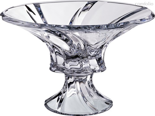 ФРУКТОВНИЦА НА НОЖКЕ OKLAHOMA ДИАМЕТР 30,5 см . ВЫСОТА 20 см . - Aurum-Crystal