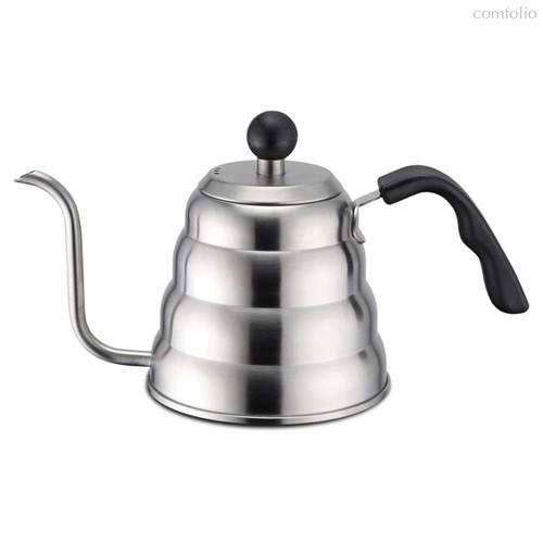 Кофейник наплитный 1.2л с тонким носиком для всех типов плит, т.ч. индукционных - Weis