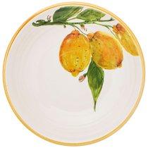 Тарелка Суповая /Салатник Cuore Limoni 22 см Без Упаковки - Ceramica Cuore