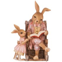 Фигурка Кролики 11,5x10,5x17,5 см - Kenton
