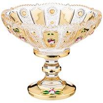Конфетница Lefard Gold Glass 14x14 см Высота 12 см - I AND A