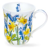 """Кружка Dunoon """"Загородные цветы в жёлтых тонах.Бремор"""" 330мл - Dunoon"""