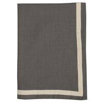 Набор из двух кухонных полотенец саржевого плетения серого цвета из коллекции Essential, 50х70 см - Tkano