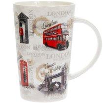 Кружка Латте Достопримечательности Лондона 400мл - Lesser & Pavey