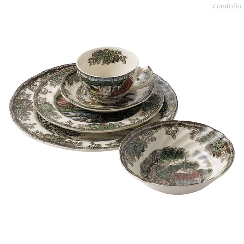 Сервиз чайно-столовый 20пр Деревенька - Johnson Brothers