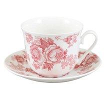 Викторианская роза розовая/Чайная пара для завтрака 500 мл COVICP1101 - Roy Kirkham