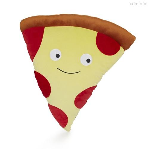 Подушка диванная Pizza Pepperoni, цвет желтый - Balvi