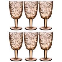 Бокалы для вина Джангл 6 шт. Серия Muza Color 300 мл Высота 16 см - Dalian