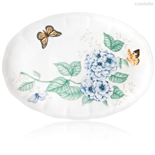 """Блюдо овальное Lenox """"Бабочки на лугу"""" 40,5см - Lenox"""