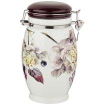 Емкость Для Сыпучих Продуктов Пурпур 11,5x11,5 см Высота 20 см / 1100 мл - Huachen Ceramics