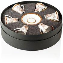 """Набор из 6 чашек для эспрессо с блюдцами 100мл """"Морские звезды"""" - Rosenthal"""