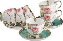 Чайный Набор Амелия На 6 Персон 12 Пр. 250 мл - Porcelain Manufacturing Factory