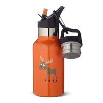 Детская термос-фляга TEMPflask™ Moose 0.35л оранжевая, цвет оранжевый - Carl Oscar