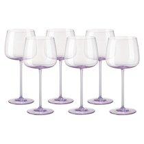 "Набор бокалов для красного вина Rosenthal ""Турандот"" 280мл (розовый), 6шт - Rosenthal"