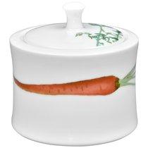 "Сахарница 10,5см ""Овощной букет"" ""Морковка"" - Noritake"
