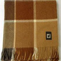 Плед INCALPACA (55% шерсть альпака, 45% шерсть мериноса) PP-33, цвет коричневый, 170 x 210 - Incalpaca TPX
