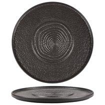 Тарелка мелкая с подиумом 30 см фарфор PL Proff Cuisine серия Black star - P.L. Proff Cuisine