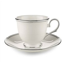"""Блюдце для чашки чайной Lenox """"Федеральный,платиновый кант"""" 15см - Lenox"""