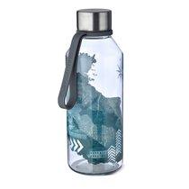 Бутылка спортивная WisdomFlask™ Strength 0.65л, цвет серый - Carl Oscar