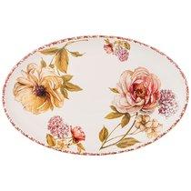 Блюдо Lcs Овальное Flower Garden 36Х23 см Без Упаковки - Ceramica Cuore