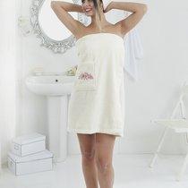 """Набор для сауны """"KARNA"""" женский махровый PERA 1/2, цвет кремовый, 70x150 - Bilge Tekstil"""