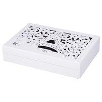 Шкатулка Для Чая Белая С 6-Ю Секциями Париж 26x17,3x5,5 см - Polite Crafts&Gifts