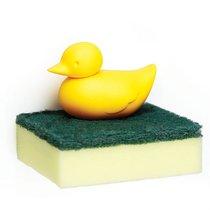 Держатель для губки Duck жёлтый - Qualy