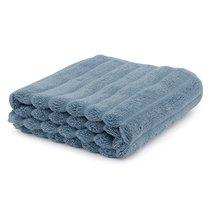 Полотенце для рук Waves джинсово-синего цвета из коллекции Essential, 50х90 см - Tkano