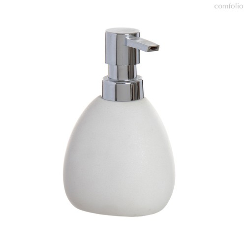 Дозатор для жидкого мыла Arena Stone 350мл белый, цвет белый - D'casa
