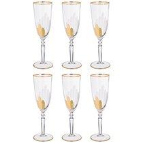 Набор бокалов для шампанского из 6 шт. 200 мл ВЫСОТА 22 см . - Same