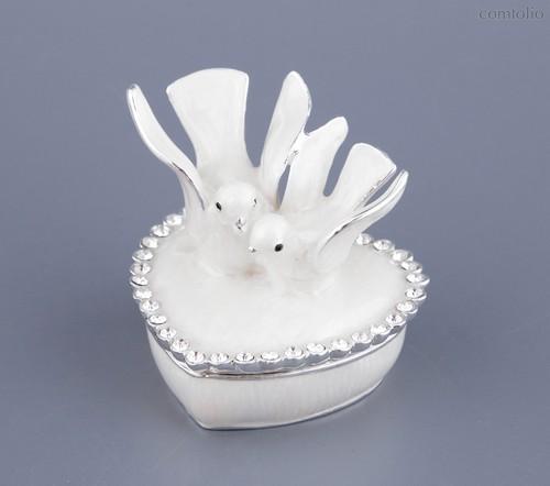 Шкатулка Голуби 6x6x6 см - Guangzhou Xincle Handicraft Liu Qing Jewelry