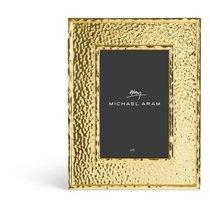 "Рамка для фото Michael Aram ""Текстура"" 16,5х21,5см (золотист.) - Michael Aram"