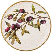 Тарелка Закусочная Cuore Olives 23 см Без Упаковки - Ceramica Cuore