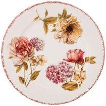 Тарелка Обеденная Lcs Flower Garden 25 см Без Упаковки - Ceramica Cuore