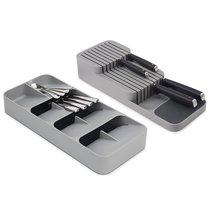 Набор из органайзера для столовых приборов DrawerStore Large и органайзера для ножей DrawerStore - Joseph Joseph